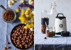 Leche de avellanas con cacao