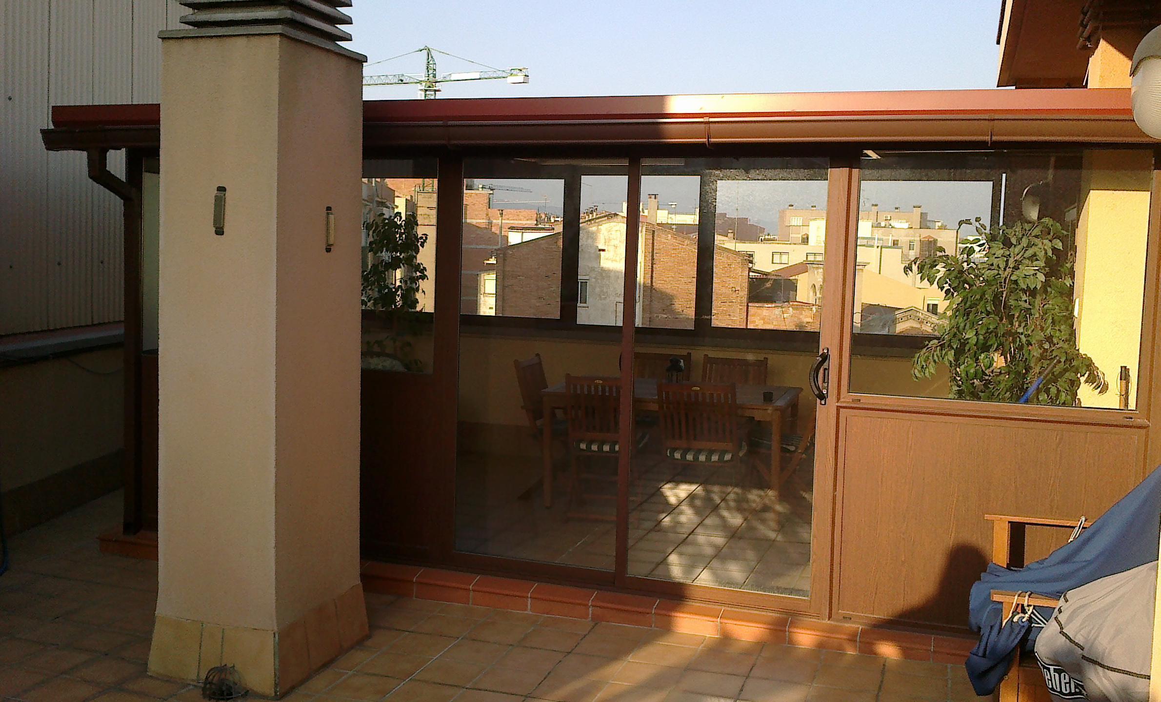 Cerramientos de terraza cat logo de vicar - Cerramientos de terraza ...