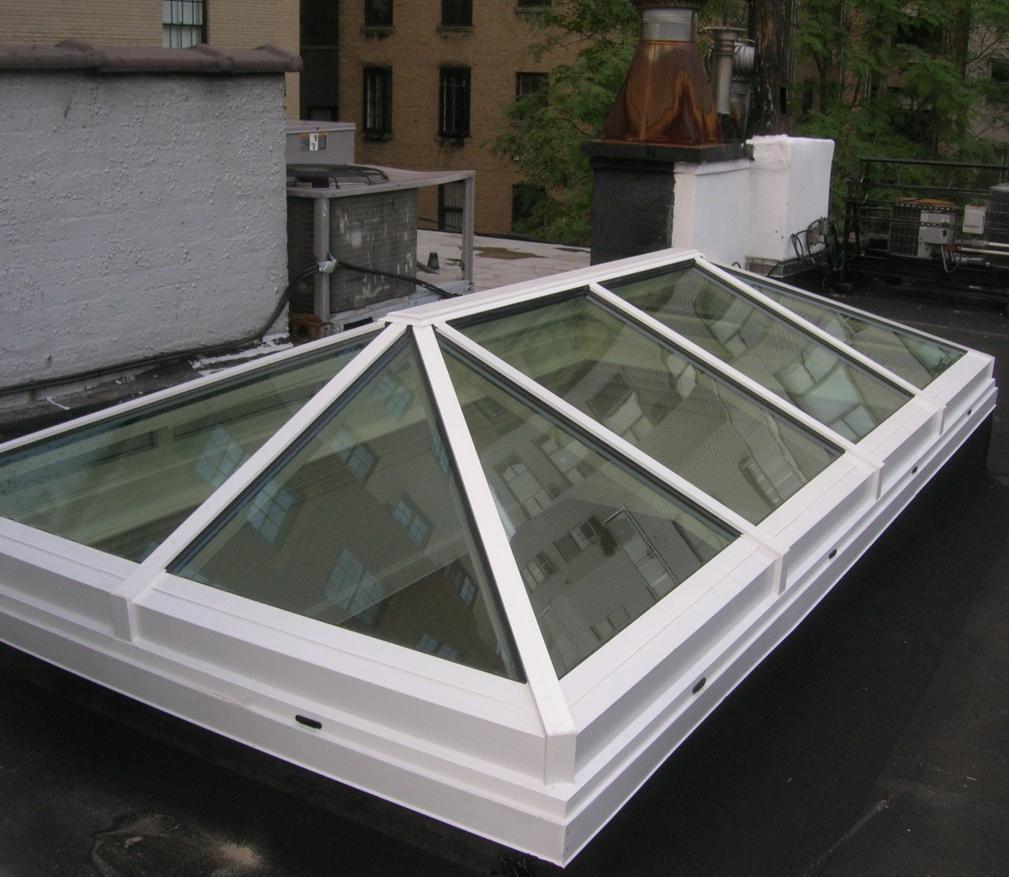 Claraboyas de aluminio hierro y cristal cat logo de vicar for Claraboyas para techos