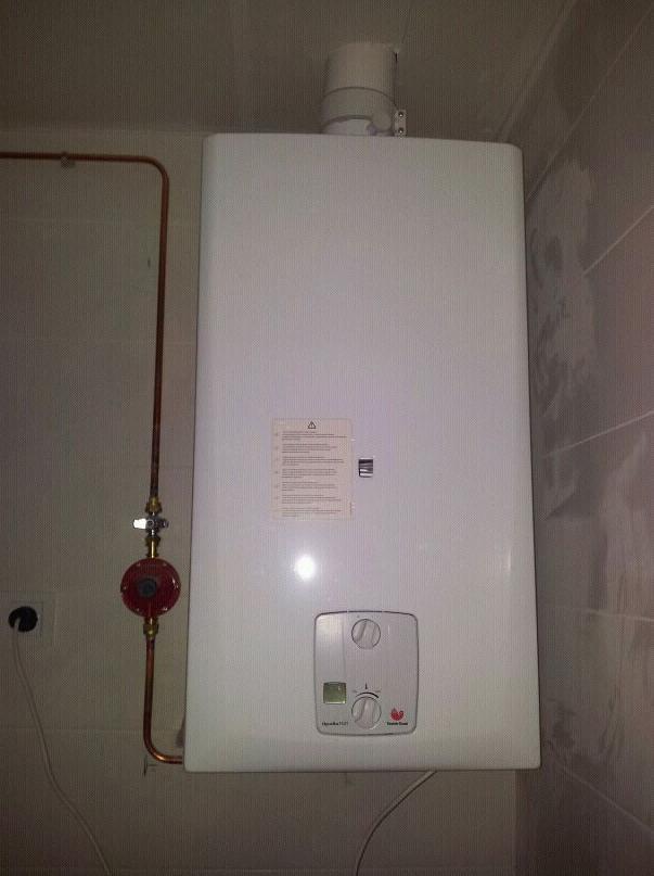 Instalación y mantenimiento de calderas de gas