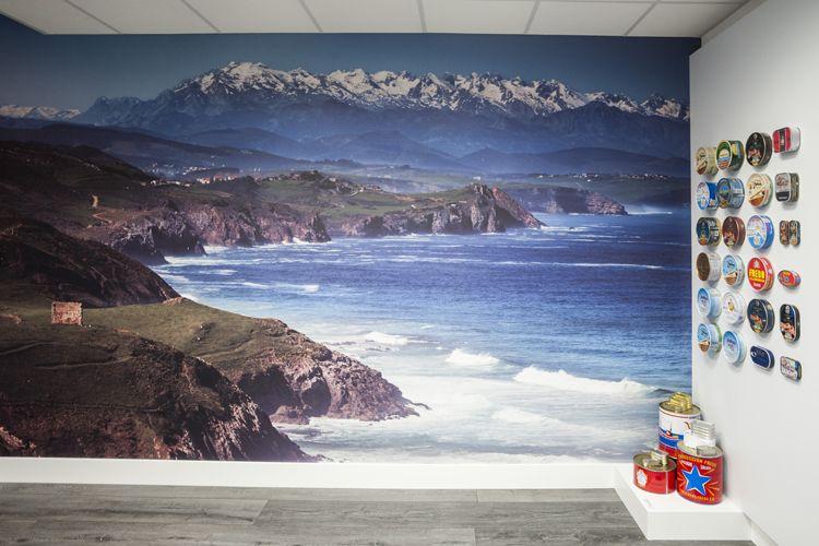 Mural decorativo del entorno