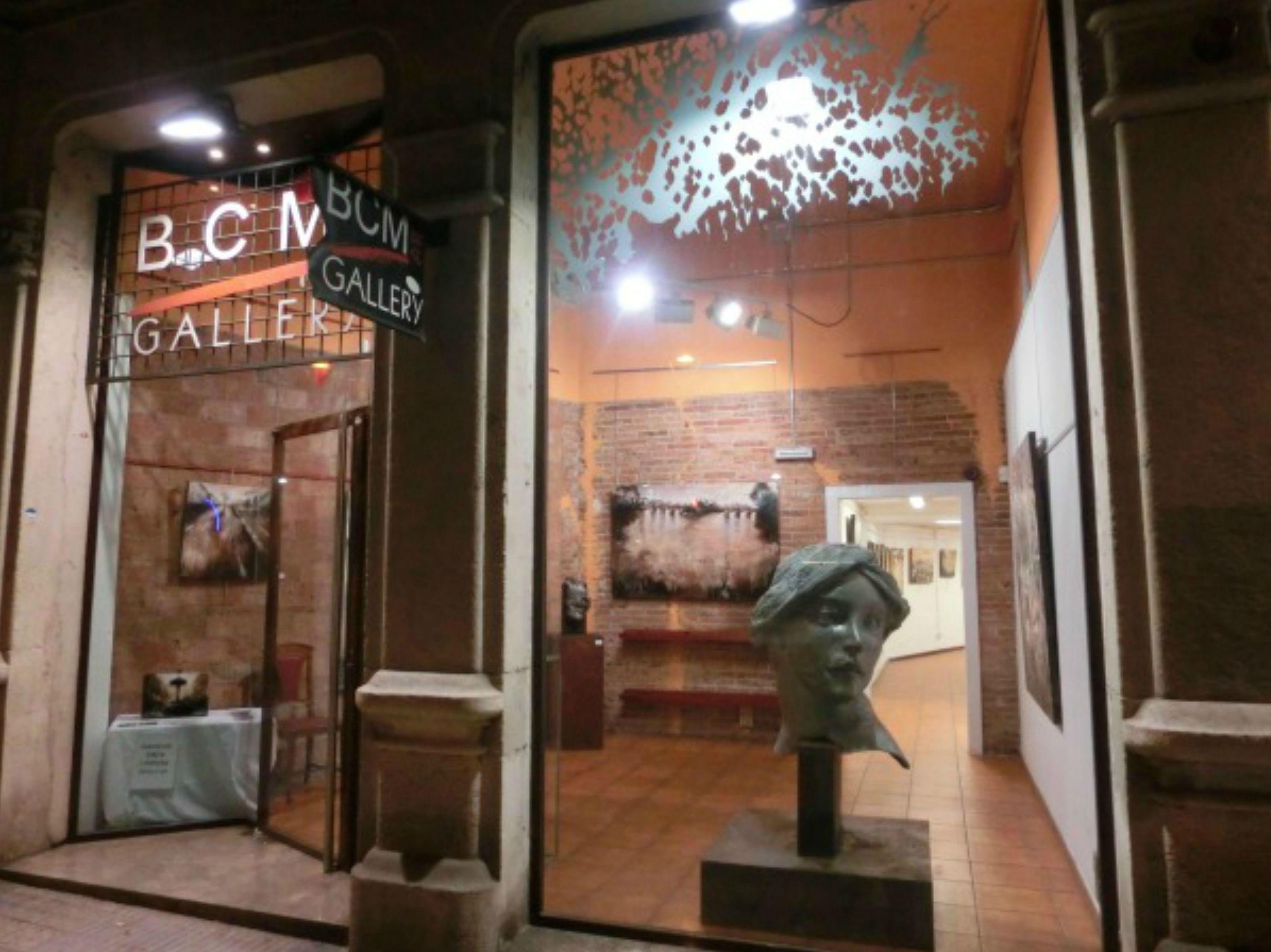 Sala de exposiciones en Barcelona