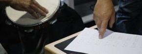 Clases de percusión, cajón flamenco y batería