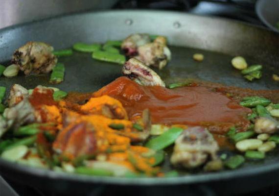 Preparación de plato