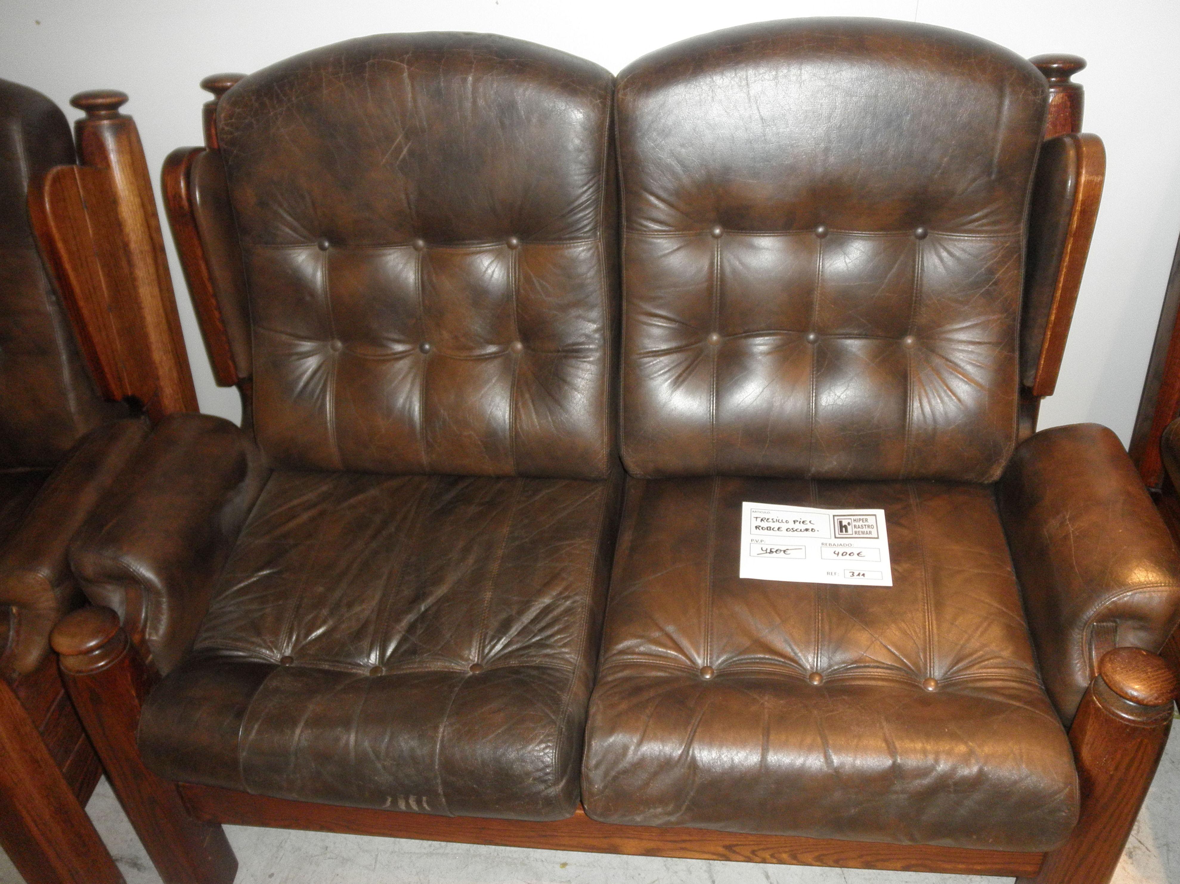 Tresillos y sofas color oscuro hiperrrastro remar navarra for Sofas y tresillos