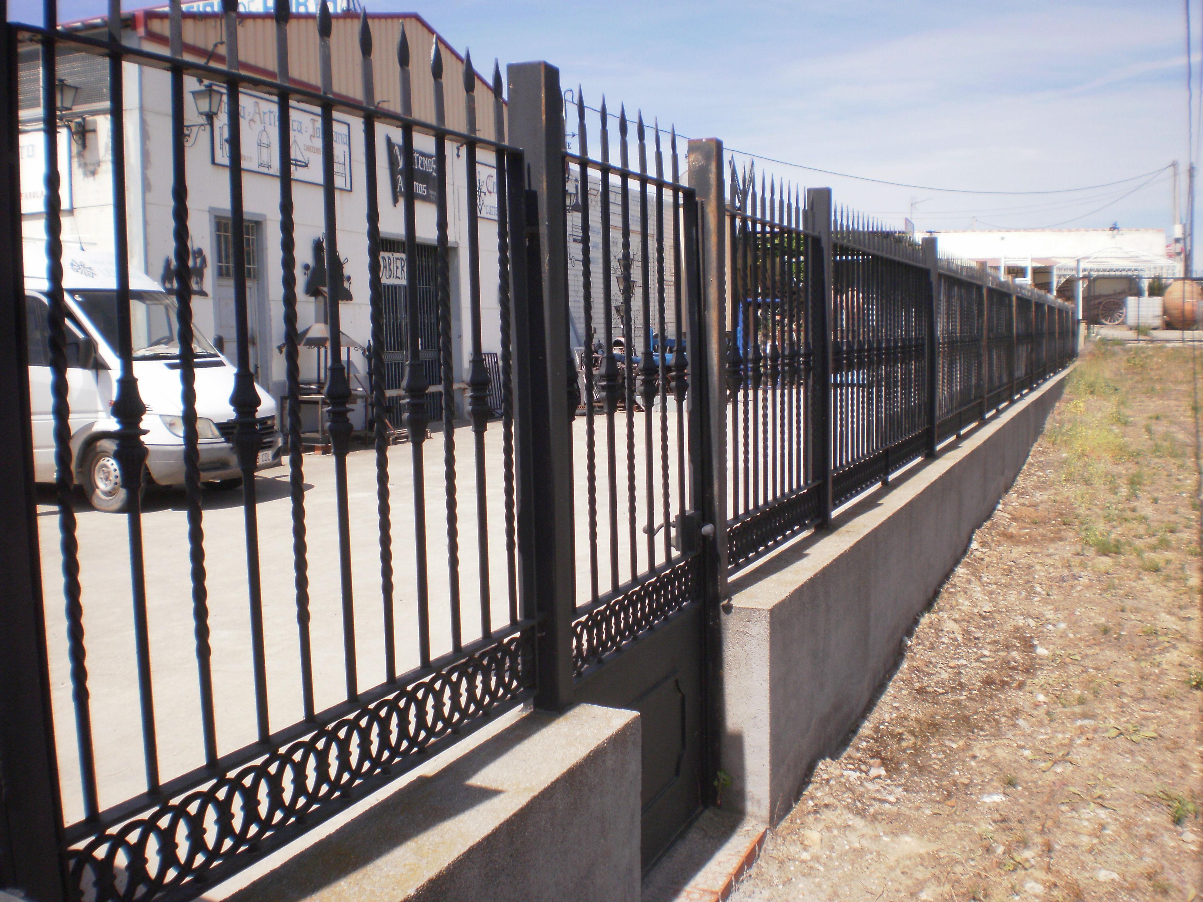 ... forja cancelas de forja balcones de forja puertas en forja barandillas