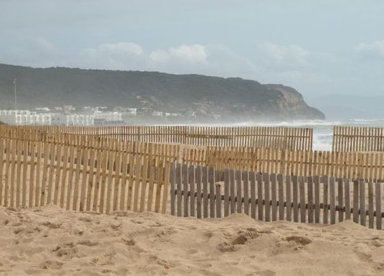 Playa de acceso en Camping Faro Trafalgar
