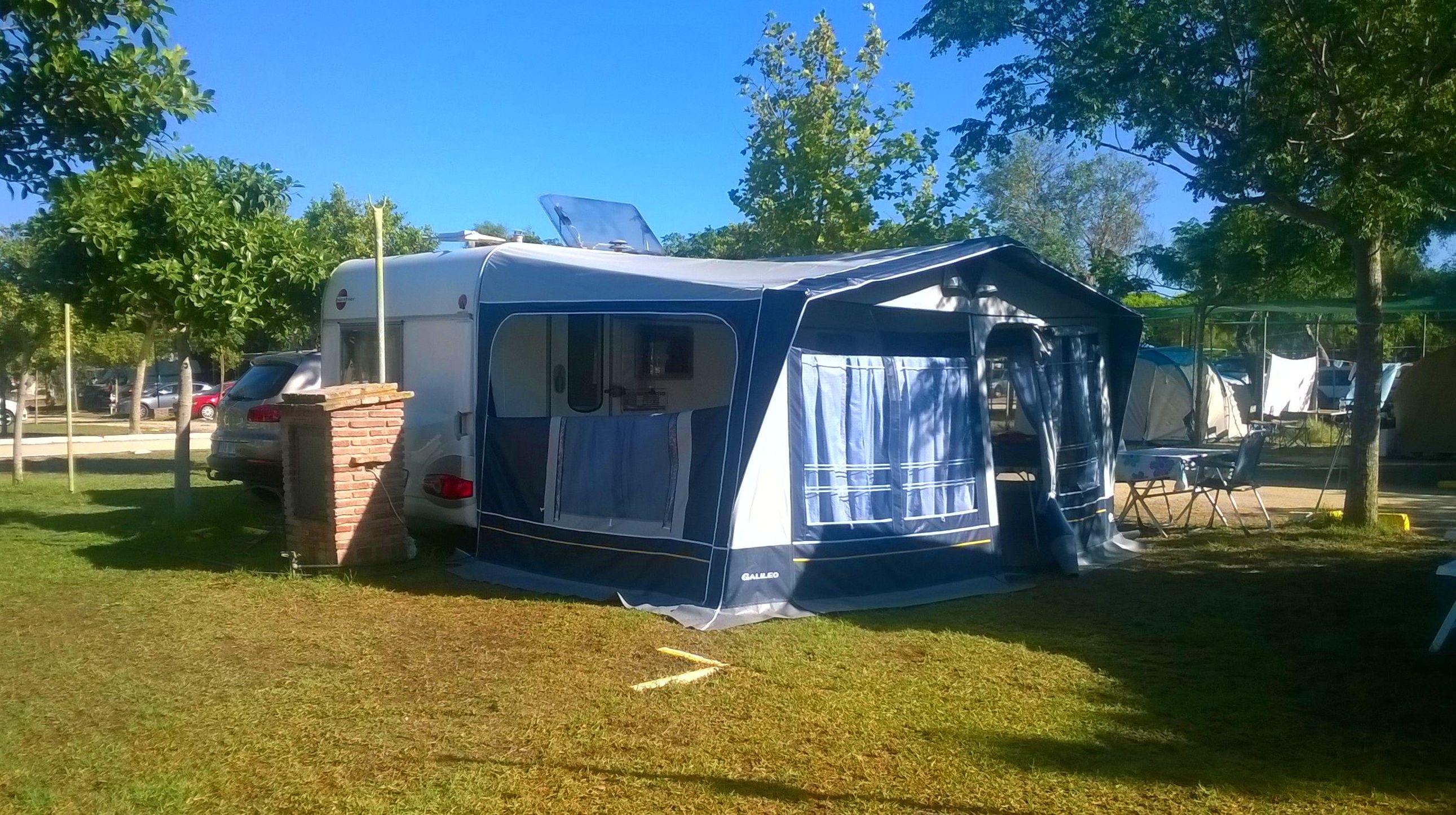 Parcela 45 m2 Camping Faro Trafalgar