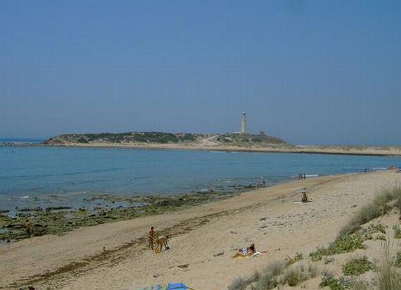 Playa junto al Faro