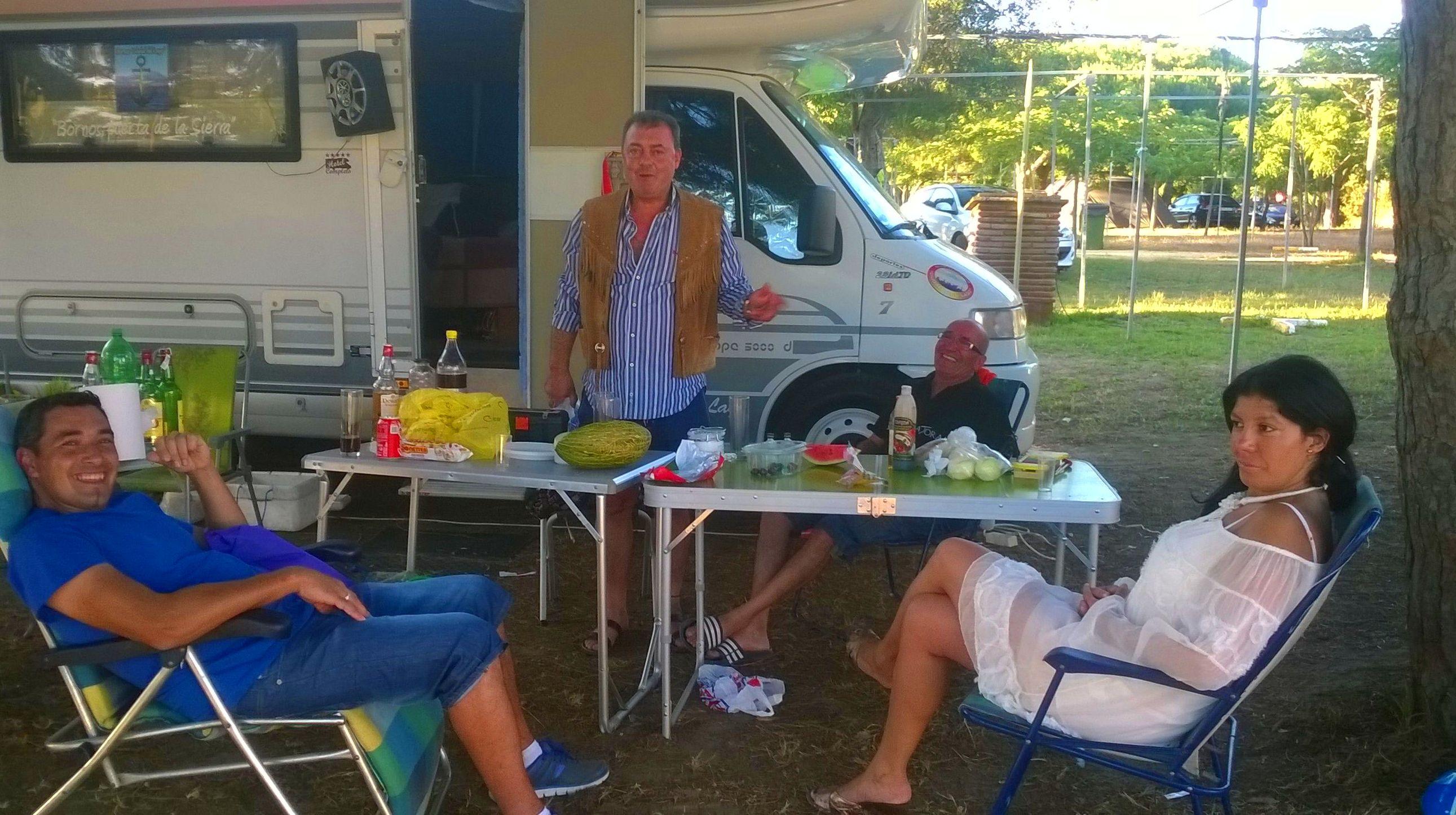 En el Camping