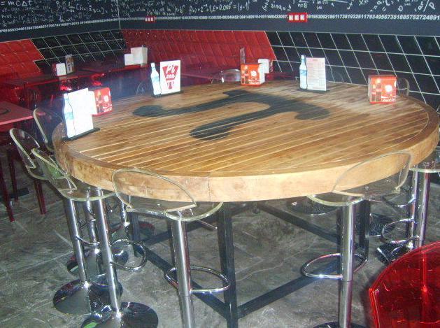 Mesa para grupos