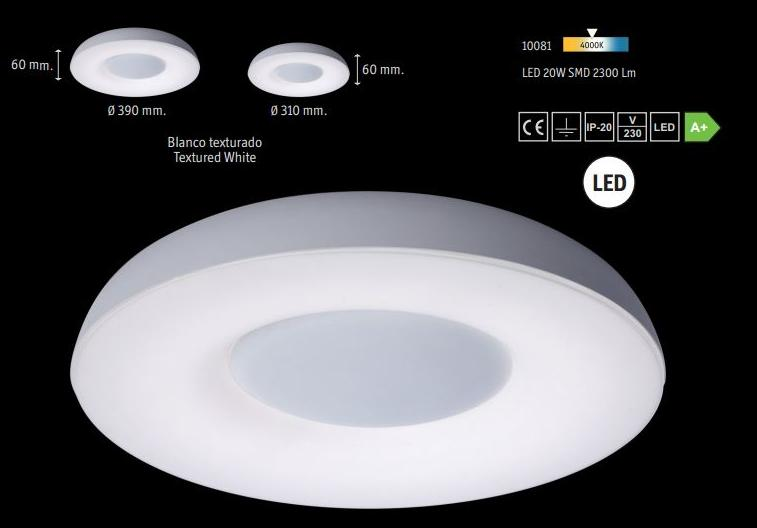 Lamparas Para Baño De Led:plafon led baño lampara de led sistema plafon estanco para baño dos