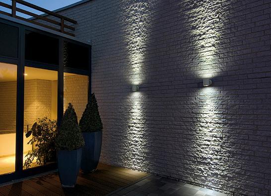Iluminacion indirecta exterior productos de lamparas el b ho - Apliques de luz para exteriores ...