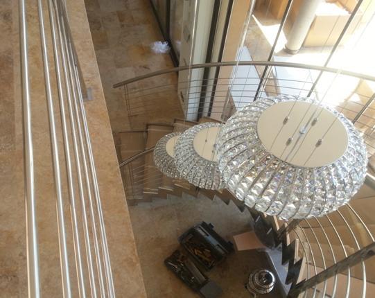 Lamparas subida de escalera productos de lamparas el b ho - Lamparas de escalera ...