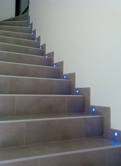 Led escalera lmpara de cortesa de interior de barco para for Escalera aluminio plegable easy