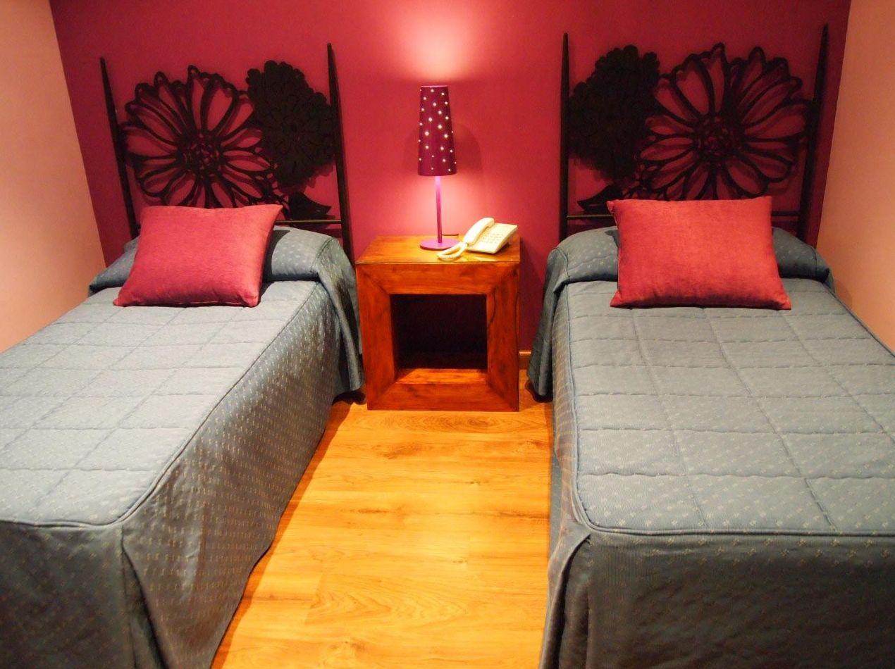 Hoteles en Segovia. Habitación doble