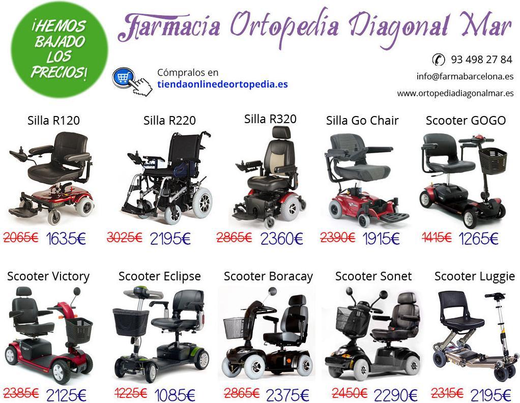 Bajamos los precios en sillas de ruedas eléctricas y scooters!