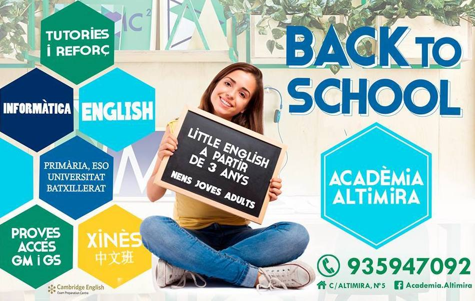 ACADEMIA ALTIMIRA BACK TO SCHOOL