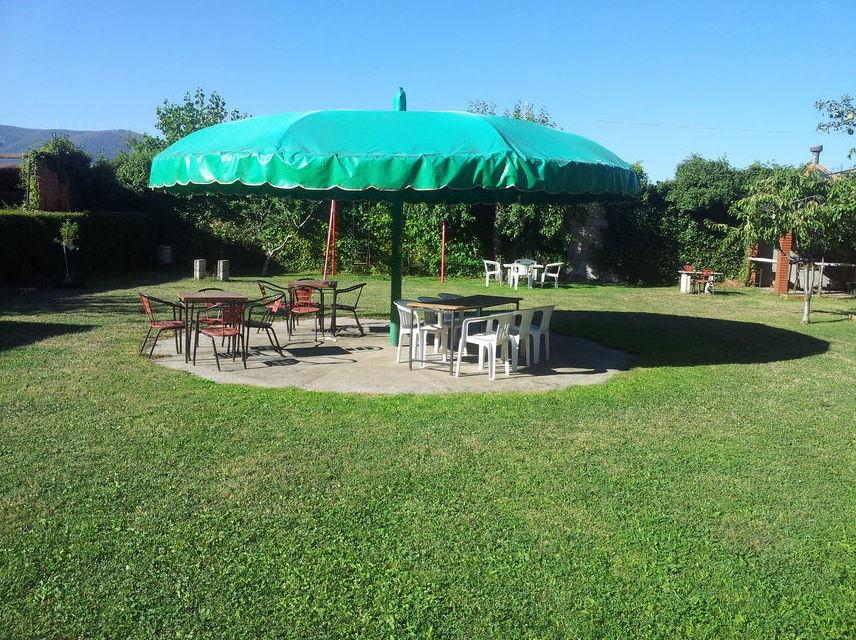 Jardín para nuestros clientes