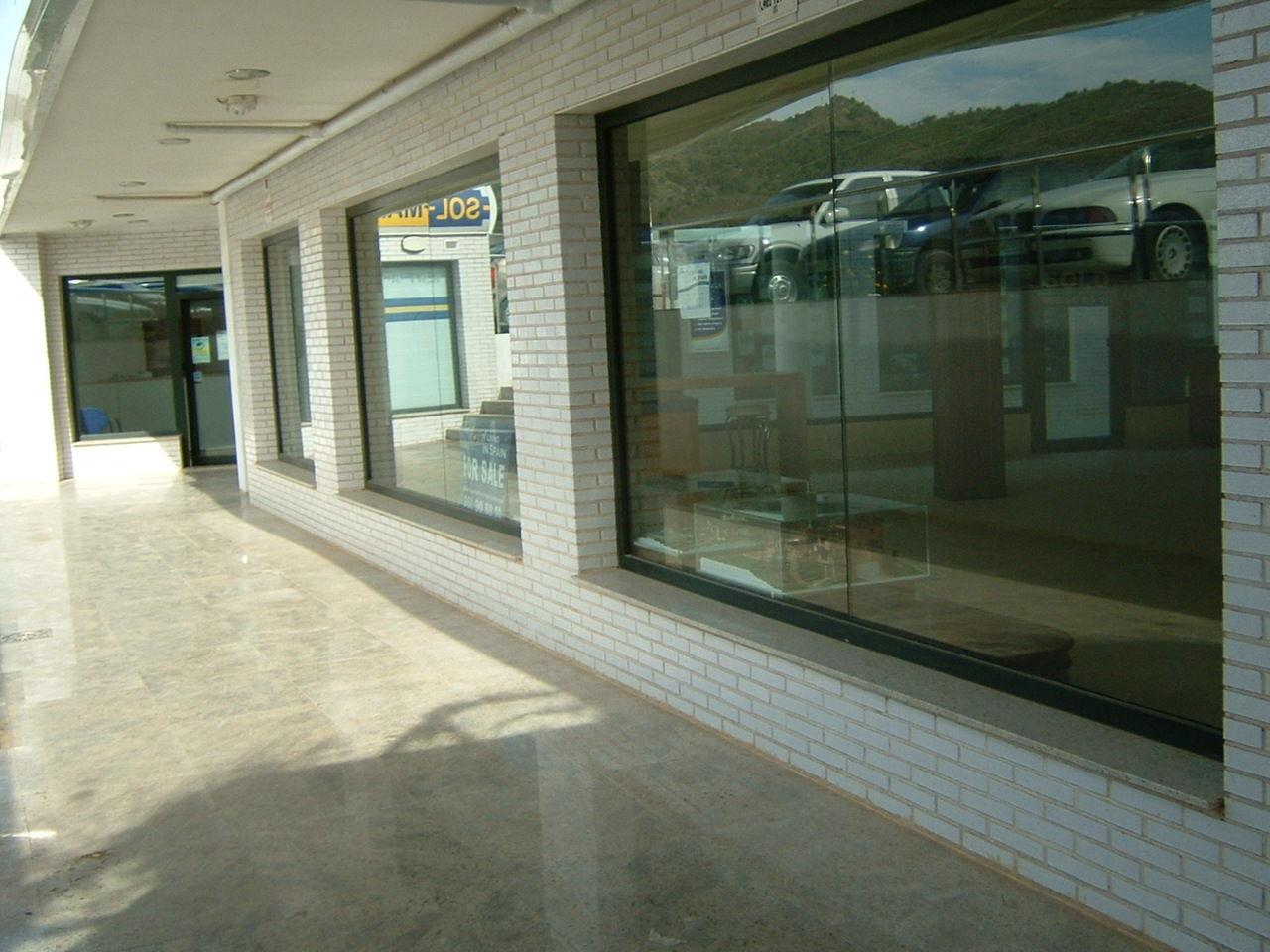 Centro comercial, La Manga Club (verde pino)