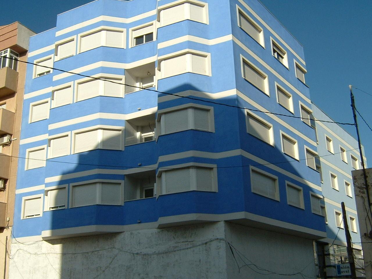 Obra nueva, edificio cadete