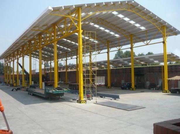 casa estructura metlica para nave