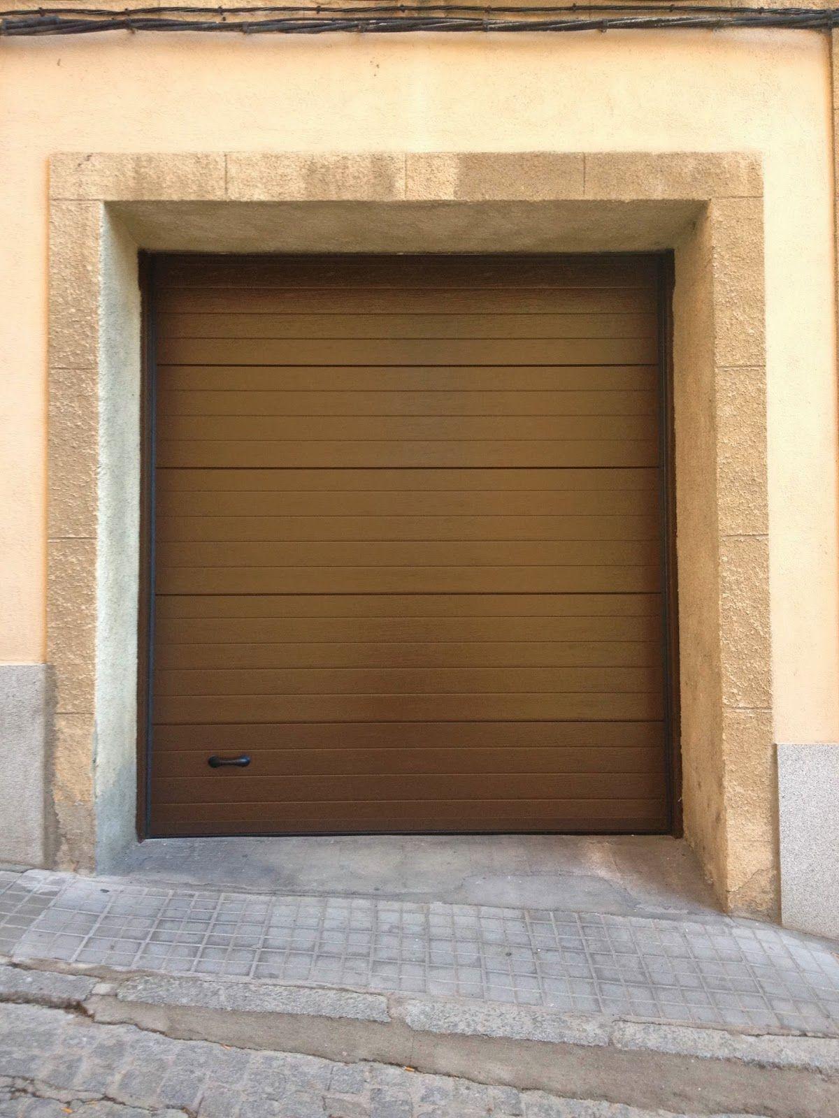 Puertas de garaje autom ticas en boadilla del monte para for Puertas automaticas garaje
