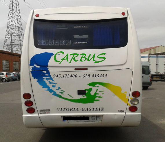Foto 2 de Autocares en Vitoria-Gasteiz | Autocares Carbus