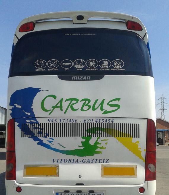 Foto 4 de Autocares en Vitoria-Gasteiz | Autocares Carbus