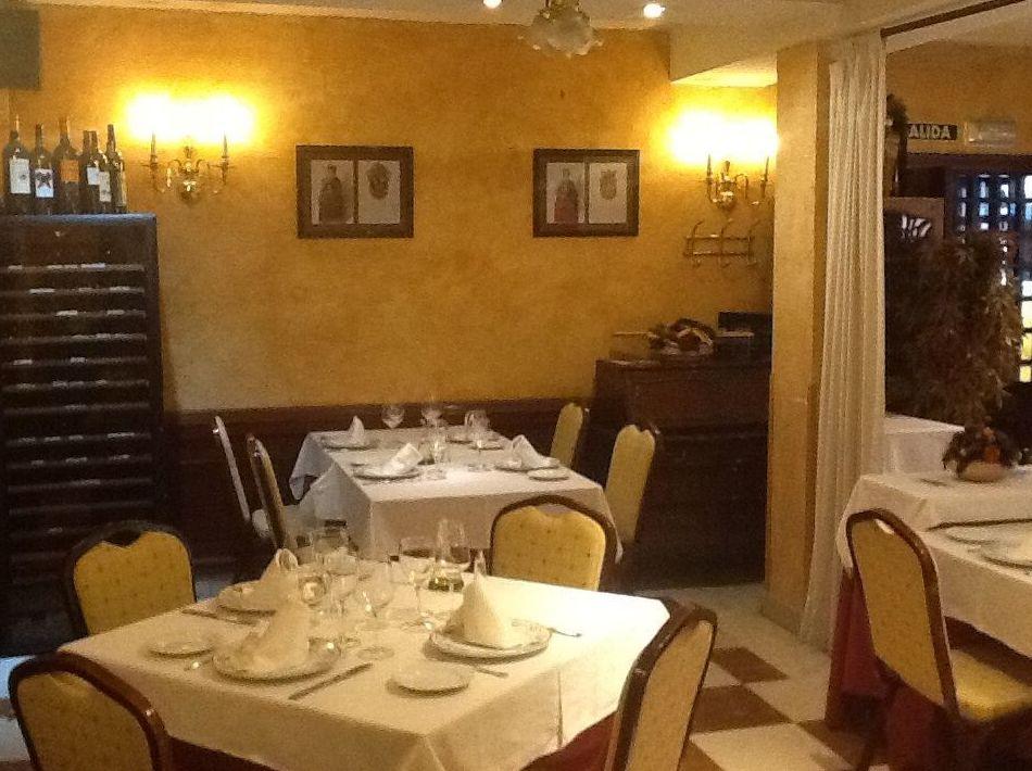 Agradable restaurante en Madrid
