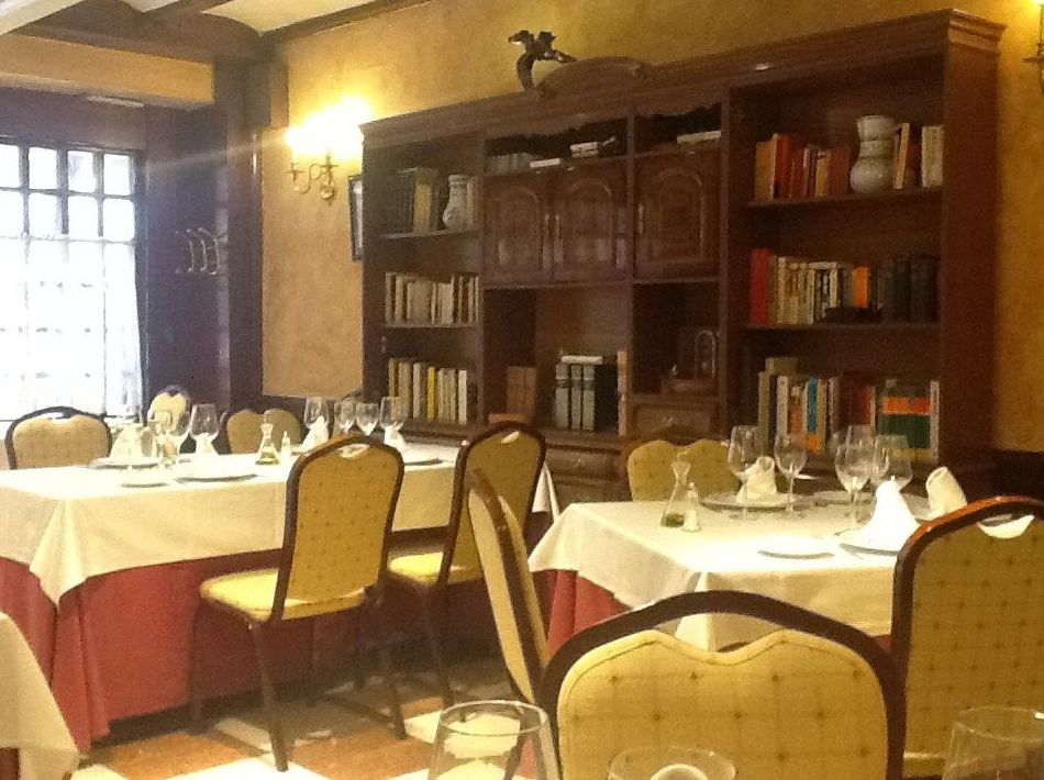 Restaurante con ambiente agradable en Madrid
