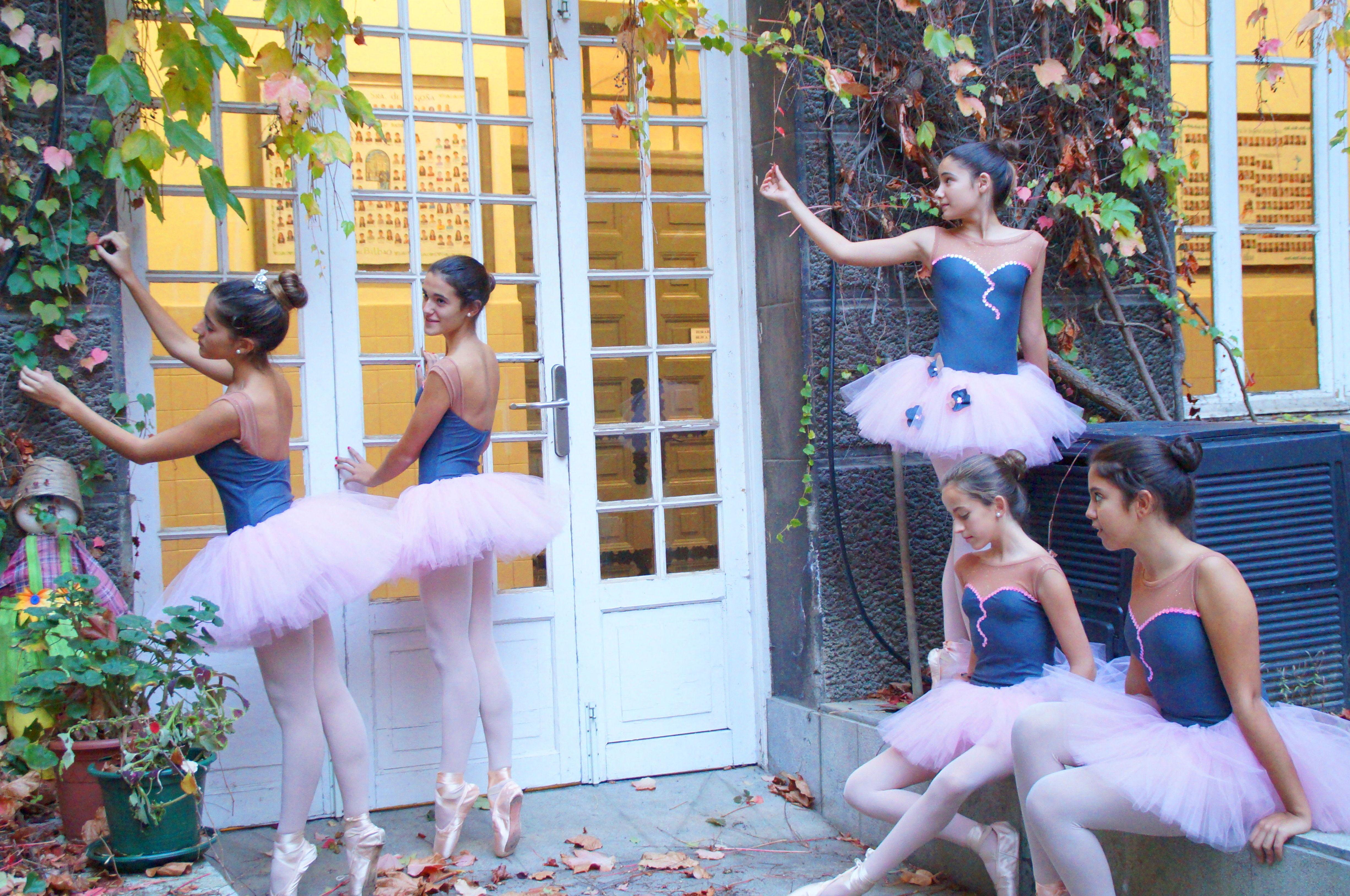 Ballet Bilbao Sesion Fotografica para Calendario 2015