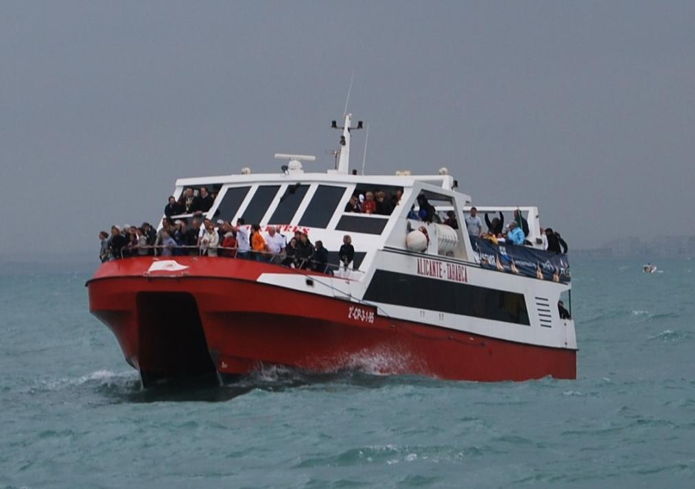 Foto 1 de Excursiones marítimas en Alicante | Cruceros Kontiki