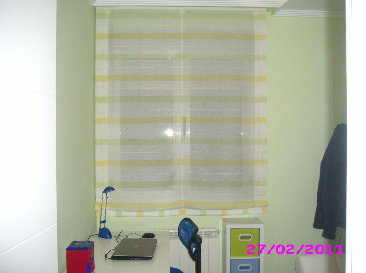 Foto 101 de cortinas en albacete venezia decoraci n - Estores para habitaciones ...