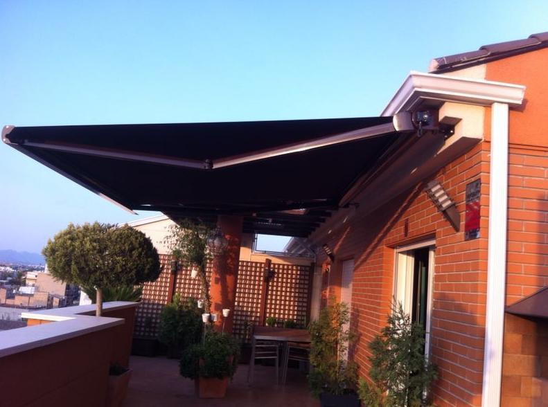 Toldos para terrazas precios materiales de construcci n - Precios de toldos para patios ...