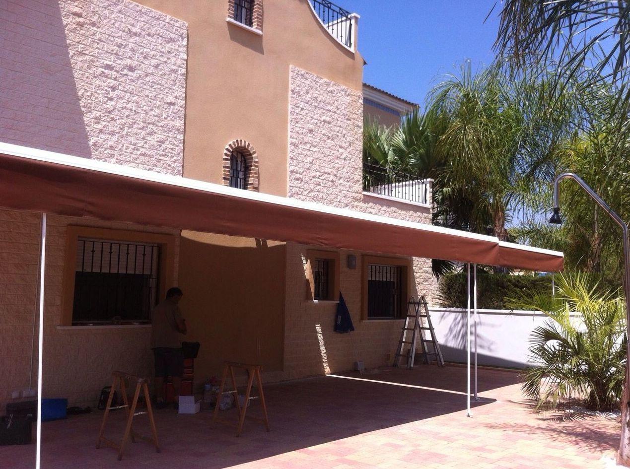 Toldos molina de segura materiales de construcci n para - Materiales para toldos ...