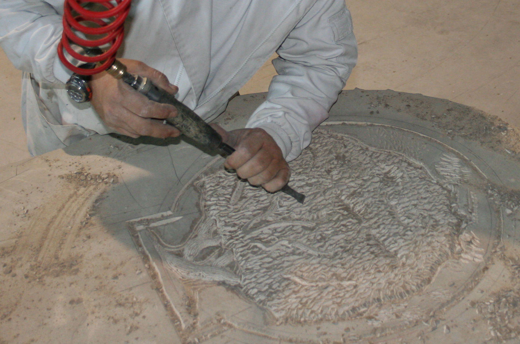 Trabajos artesanales en mármol en Navarra