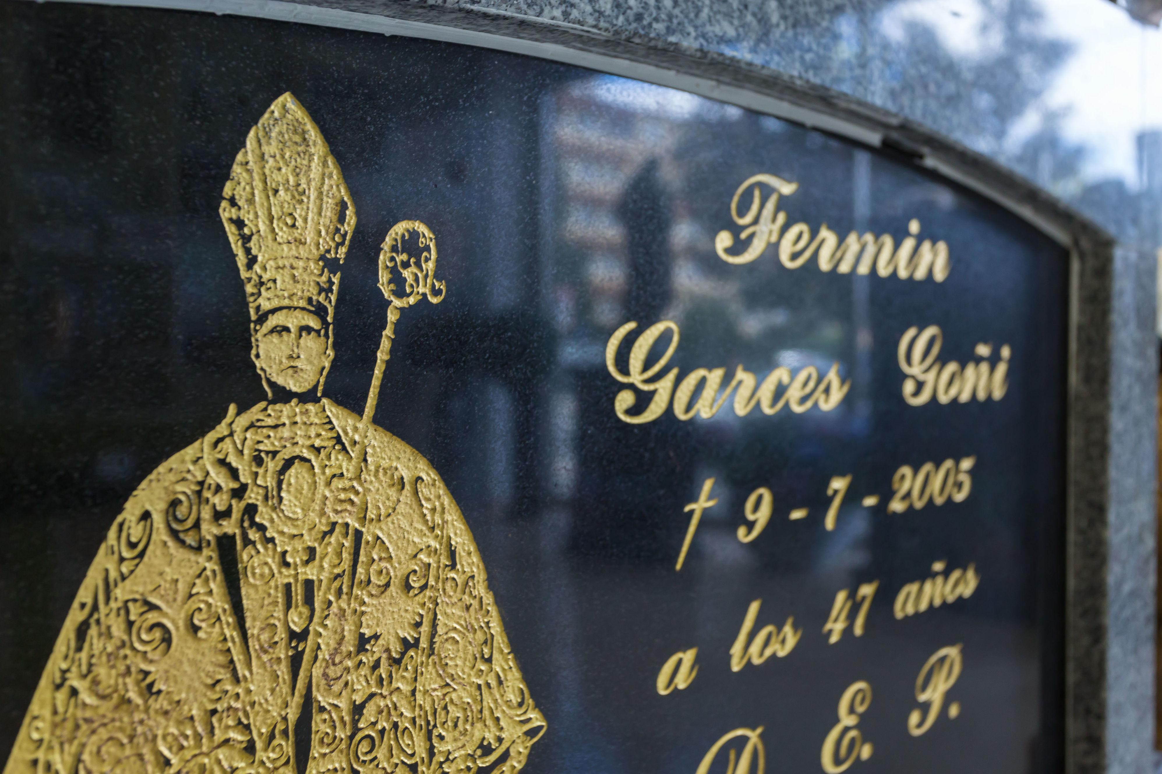 Lápidas en Pamplona
