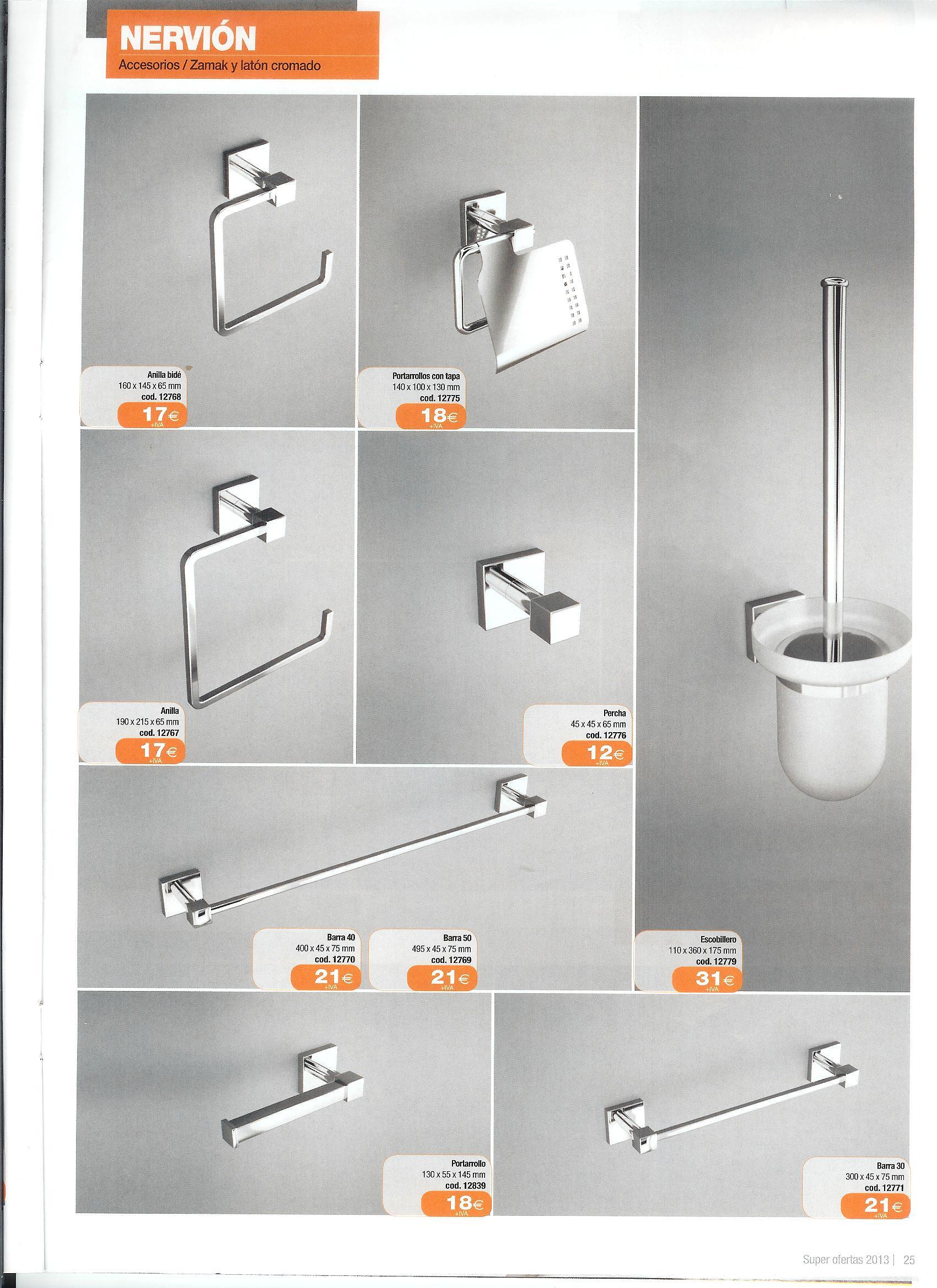 Accesorios de ba o color wengue for Accesorios bano color blanco