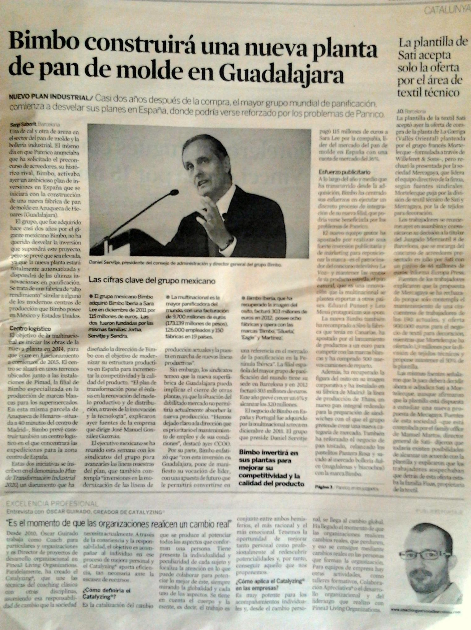 Ctalyzing para empresas - Diario Expansión