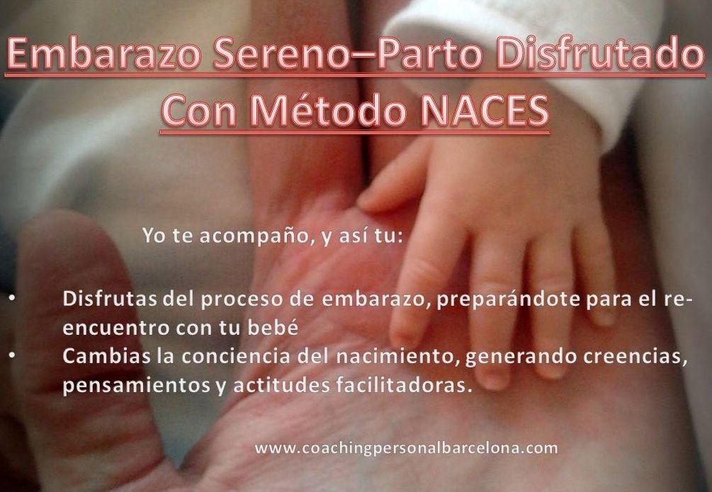embarazo sereno-parto disfrutado método NACES