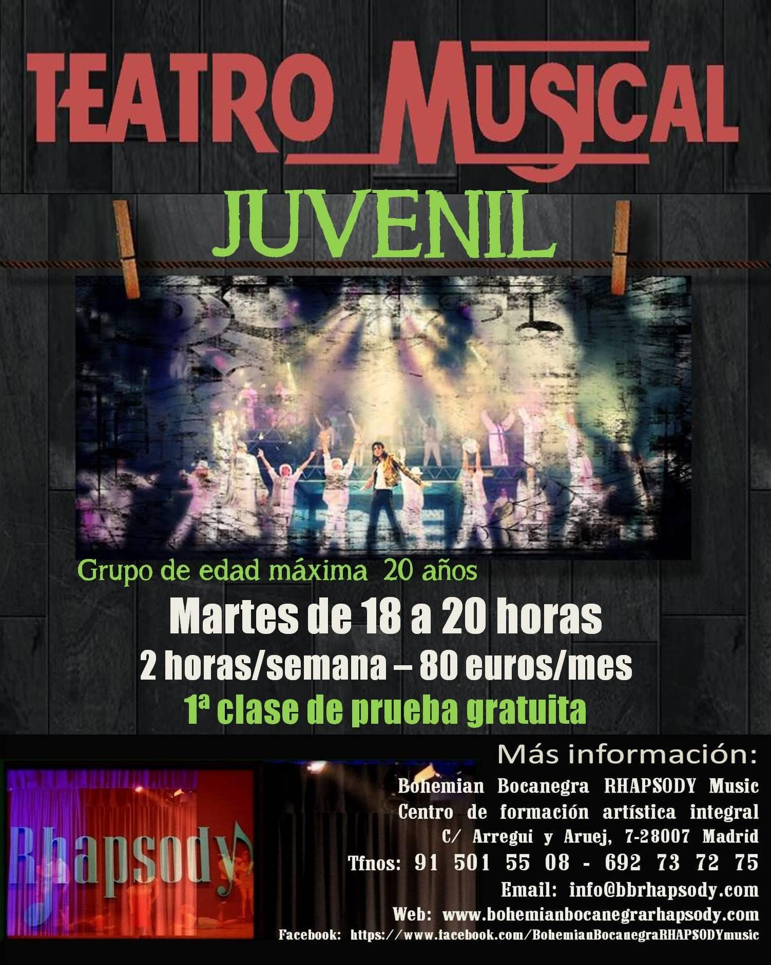 TEATRO MUSICAL JUVENIL
