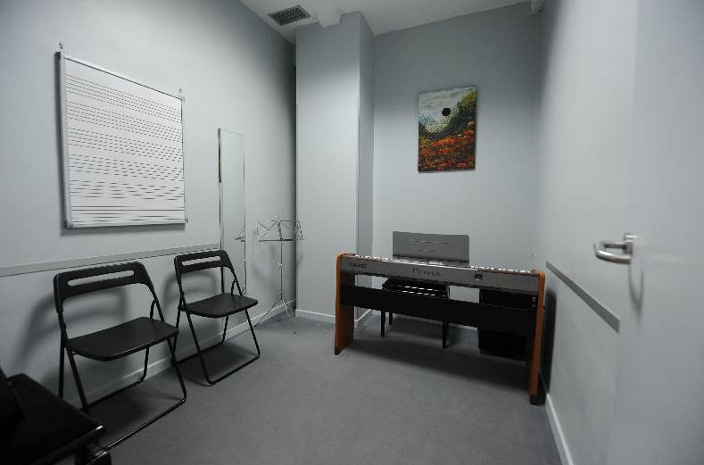 Escuela de música en Madrid