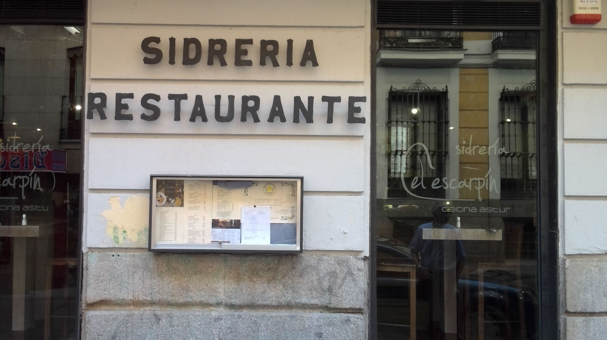 Restaurante Sidrería asturiano en Madrid