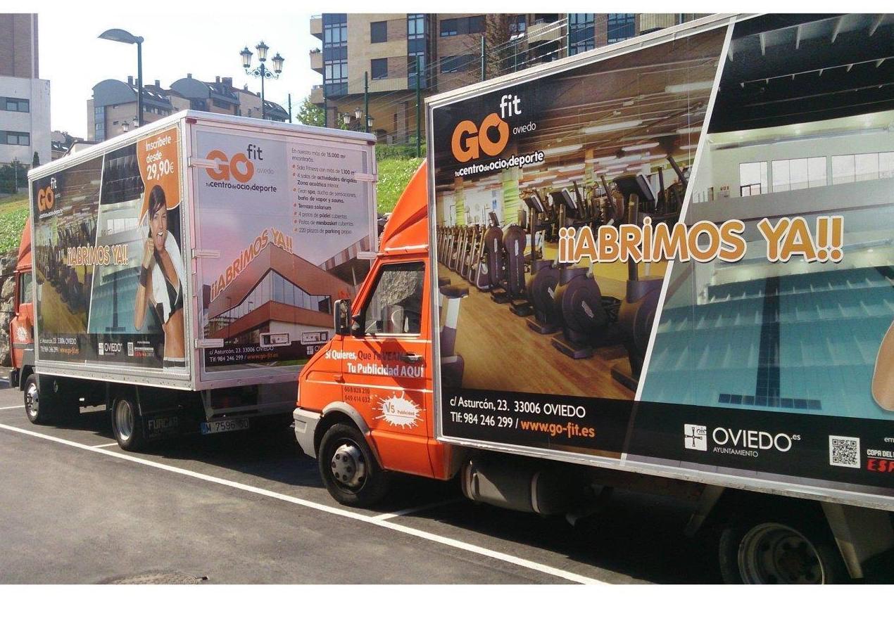 Vallas y stands móviles: Servicios de V5 Publicidad