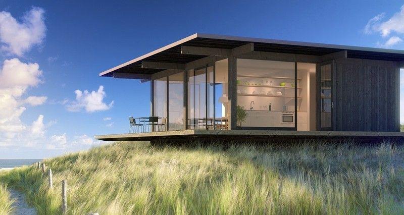 Casas modulares productos de puertas miret - Casas prefabricadas minimalistas ...