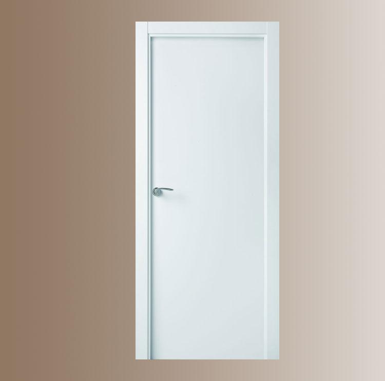 1 5 lacadas lisas macizas productos de puertas miret - Puertas macizas interior ...