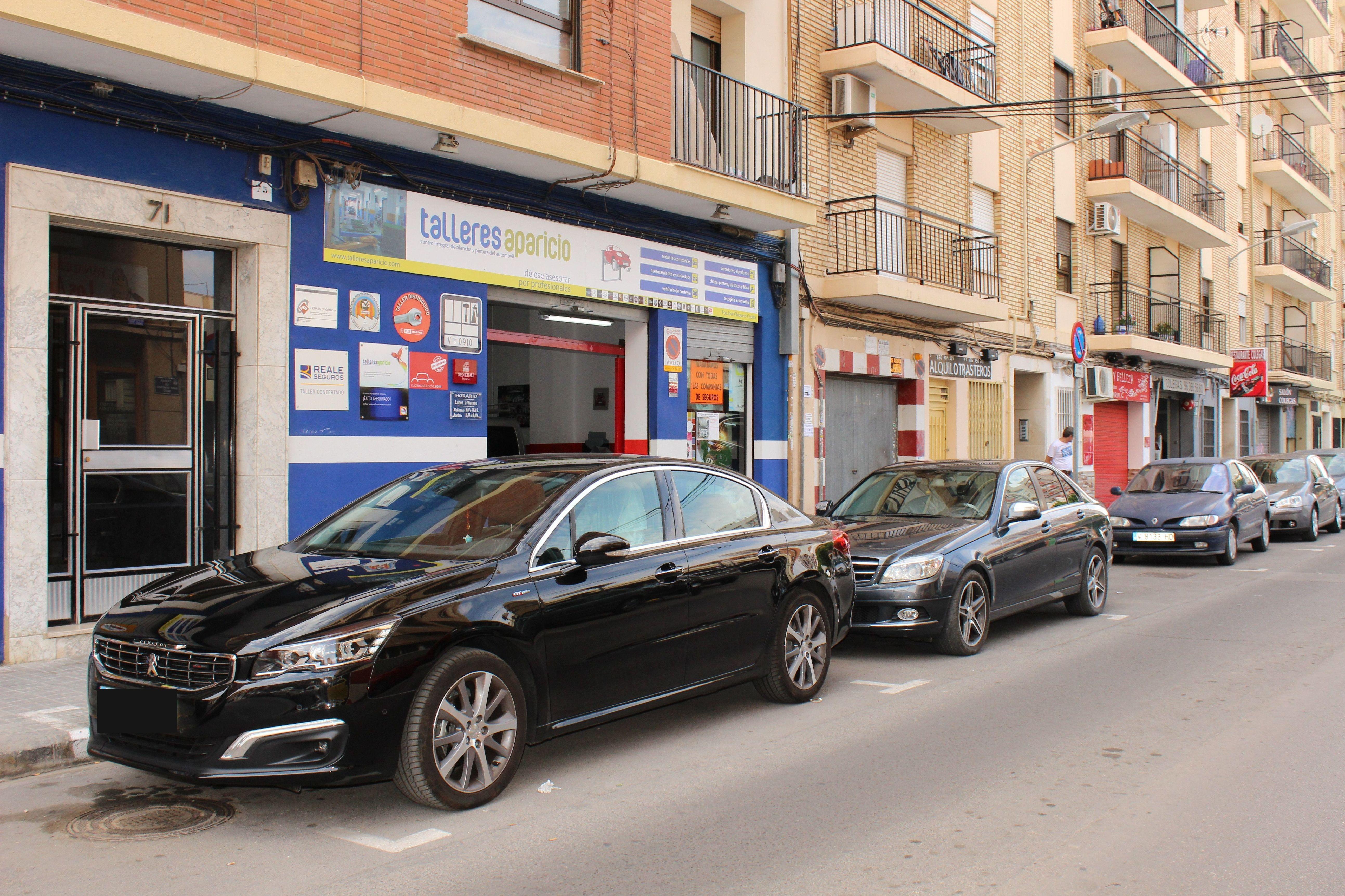 Foto 17 de Talleres de chapa y pintura en Valencia | Talleres Aparicio Autochiquero
