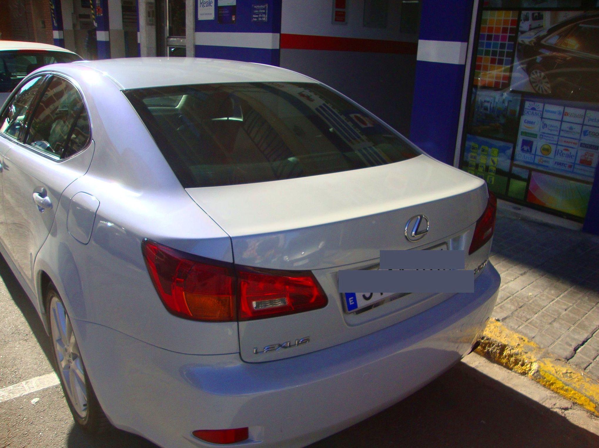 Pintura general perlado Lexus