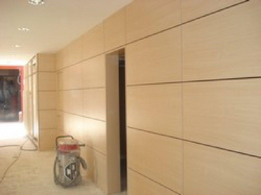 Forrados de paredes nuestros trabajos de mogatro s l - Forrar paredes de madera ...